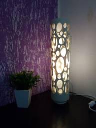luminaria de pvc.