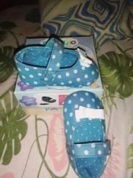 Sapato de bebê novo