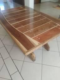 Mesa rústica nova