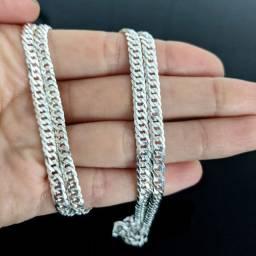 Título do anúncio: Corrente masculina em prata 925 - 18 gramas - novo