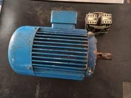 Motor trifásico 3cv de baixa rotação