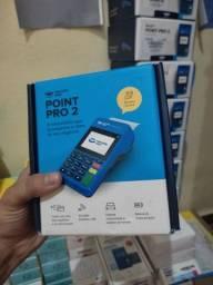 Título do anúncio: Maquininha de cartão Point pro 2 mercado pago
