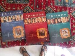 DVDs 1° 2° e 3° temporadas de Friends
