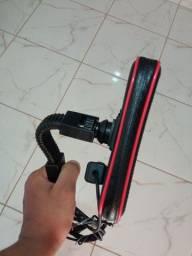 Título do anúncio: Bolsa com carregador USB para motos