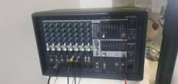 Mesa De Som 12 Canais Amplificada EMX-212S - Yamaha (cabeçote)