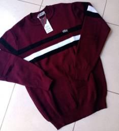 Suéter acabamento Premium