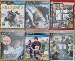 Título do anúncio: Jogos PS3 - pacote 180 reais