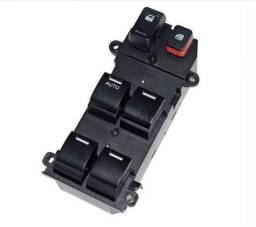 Botao Comando Interruptor Vidro Honda Crv New Fit City.