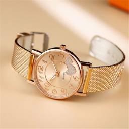 Título do anúncio: Relógio Feminino Moderno Criativo Com Pulseira De Malha