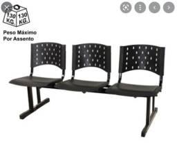 Título do anúncio: Longarina,Cadeira pra recepção,Cadeira plástica, Cadeira