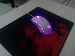 Mouse Redragon Cobra White M-711w + Mousepad Gamer Redragon 330x220.
