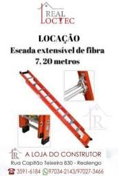Locação de escada extensível -