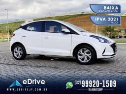 Hyundai Hb20 Vision 1.0 Flex Mec. - IPVA 2021 Pago - Novoooooo - Último Modelo - 2020