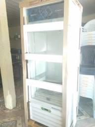 Freezer expositor 406 litros Parcelo entrego taxa