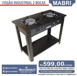 Título do anúncio: Fogão Industrial 2 Bocas Mabri
