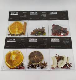 Título do anúncio: Kit Com 06 Sachês Start Gin Para Gin Tônica