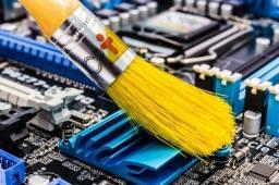 Título do anúncio: Conserto, limpeza e formatação de computadores