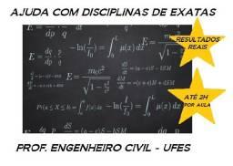 Título do anúncio: Ajuda com disciplinas de exatas