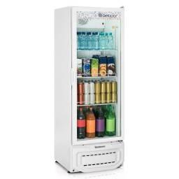 Expositor de bebidas 400 litros gelopar pronta entrega *douglas