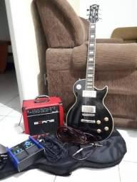 Guitarra Strinberg LP + kit (LEIA ANUNCIO)