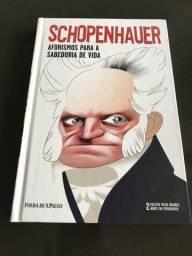 Livro Novo Capa Dura Sobre a História De Schopenhauer