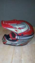 Capacete motocross num.58