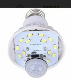 Led sensor de presença lâmpada 9w