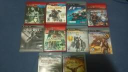 Lote jogos PS3