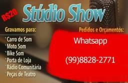 Vinhetas, Gravação Para Web Radio, Aberturas Dj, Comercial, Igrejas