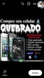 Compro celulares quebrado
