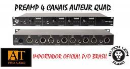 Preamp 4 canais Black Lion Audio Auteur Quad made USA ñ API Focusrite Manley GT