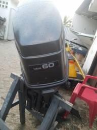 Motor de popa Yamaha 60hp com Power Trim