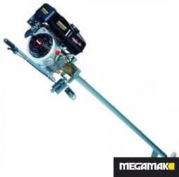 Rabeta + Motor Gasolina 7HP, Novo, Megamak