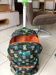 Mochila e Lancheira Escolar Puket