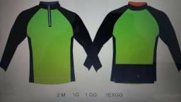 b50a744ac Camisa ciclismo manga longa