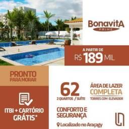 Super Sale Lua Nova Bonavita Prime Novo Pronto 2 Quartos 2 Banheiros No Araçagy