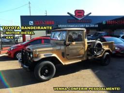 Toyota Bandeirante Picape 4x4 Diesel (N troller willys)
