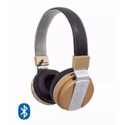 Fone Bluetooth Jb55 Headset Metal Super Bass Mp3 Wireless Bluetooth Radio Recarregável
