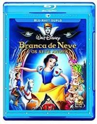 Blu ray Duplo Disney Branca de Neve e os sete anões. Desenho
