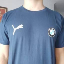 Camisa BMW azul escuro