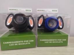 Farol Para Bike Recarregável Ecooda EC-6085