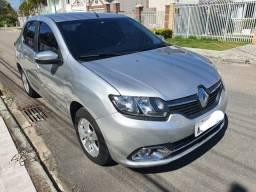 Renault Logan Dyna 16 M - Prata - 2014/2014