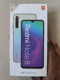Preço incrível. Redmi note 8 da Xiaomi. Novo lacrado com garantia