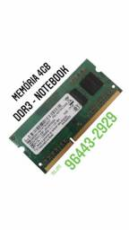 Memórias SMART 4GB DDR3 Notebook