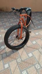 Fat bike big aro 26 shimano quadro alumínio