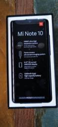 Xiaomi mi note 10 sem uso 128 gigas