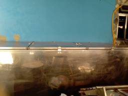 Frizer de inox 2,85 x 0,95 220v