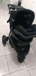 carrinho de bebe off road + cadeirinha