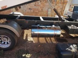 Tanque de inox caminhão, plataforma, guincho, reboque, prancha