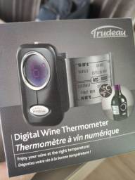Termômetro digital para vinho Trudeau